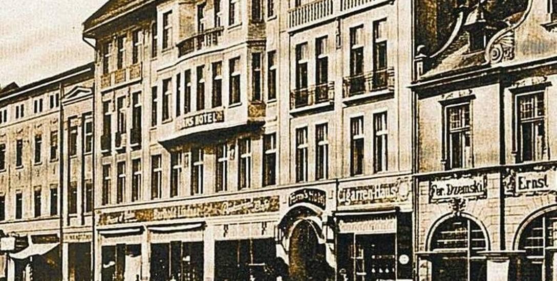 Hotel miał nie tylko 100 luksusowych pokoi, ale także salę balową i restaurację z winiarnią.