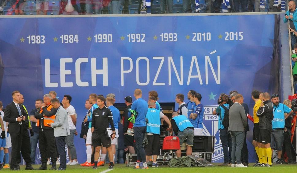 Film do artykułu: Mecz Lech Poznań - Legia Warszawa. Mecz przerwany przy prowadzeniu Legii 2:0. Walkower i co dalej?