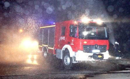 Nocny pożar w Obidzy. Juz drugi w tym tygodniu