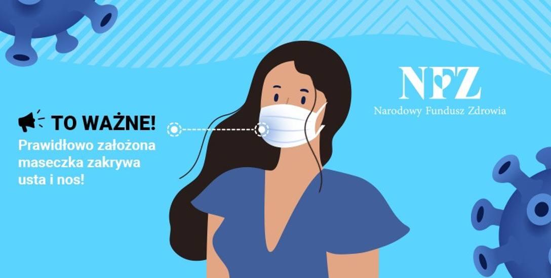 Narodowy Fundusz Zdrowia podpowiada, jak bezpiecznie żyć w czasie COVID-19