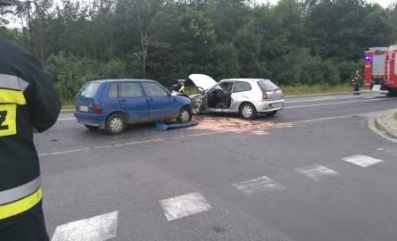 Wypadek na skrzyżowaniu Królewieckiej i Mrągowskiej, Wrocław, 20.07.2016
