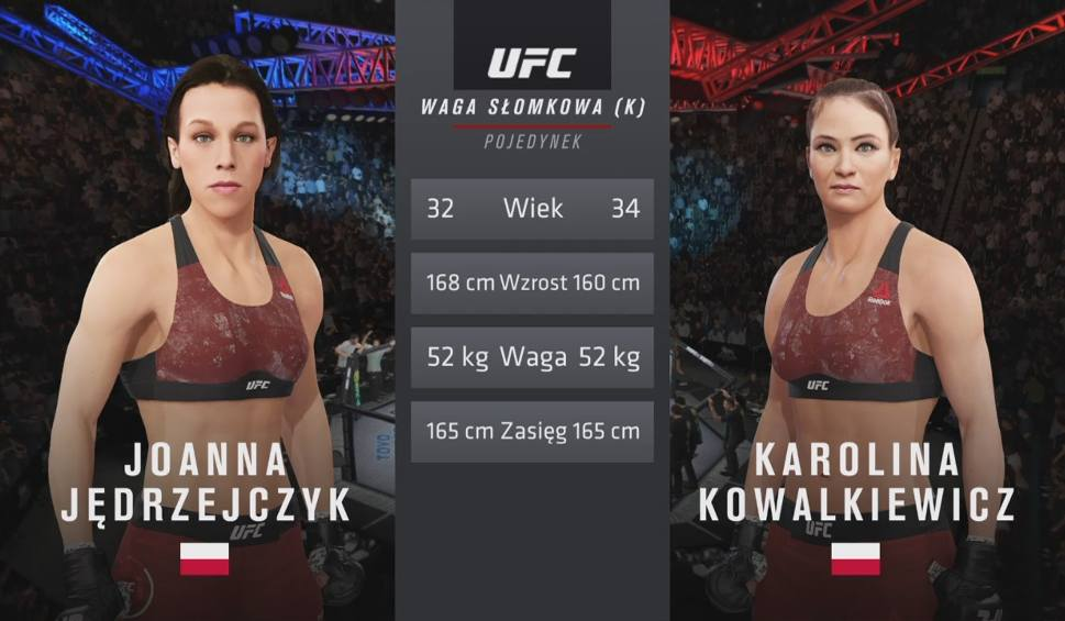 Film do artykułu: Polskie starcie w UFC 4! Joanna Jędrzejczyk kontra Karolina Kowalkiewicz. Kto wygrał? Zaskakujący wynik [WIDEO[