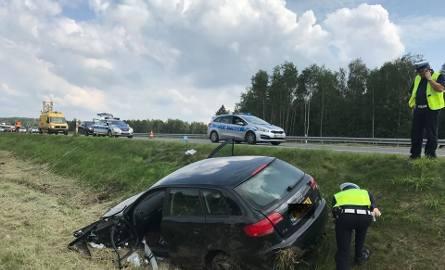 Wypadek na autostradzie A4 w Jaworznie: policja szuka świadków