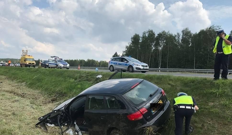 Film do artykułu: Poważny wypadek na A4 w Jaworznie. Policja szuka świadków ZDJĘCIA