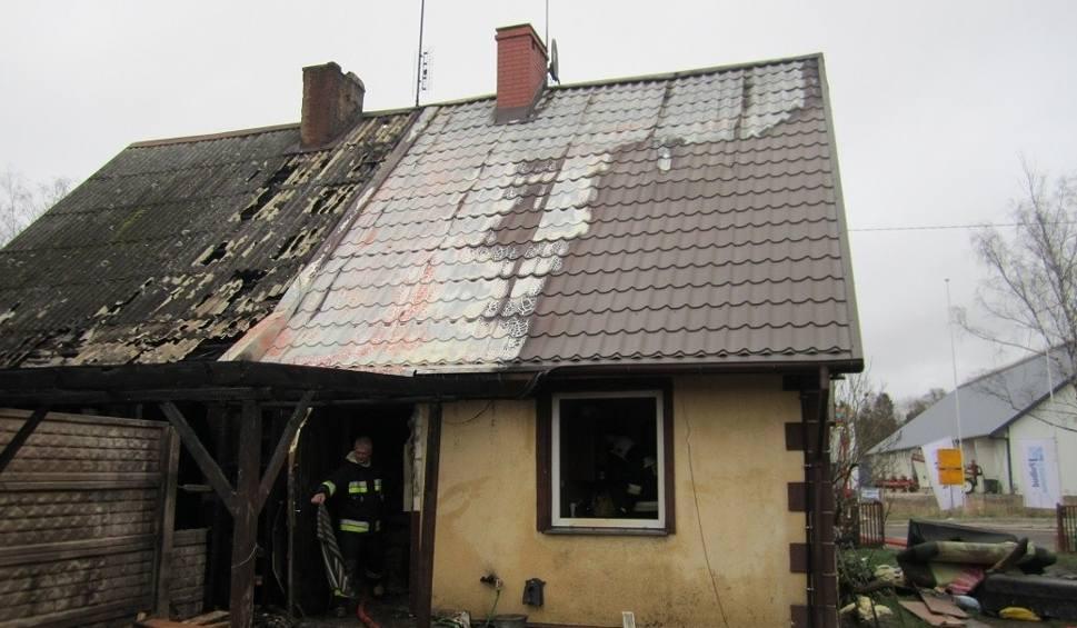 Film do artykułu: Tragedia w Duninowie. Spłonął dom dwurodzinny. Potrzebna pomoc