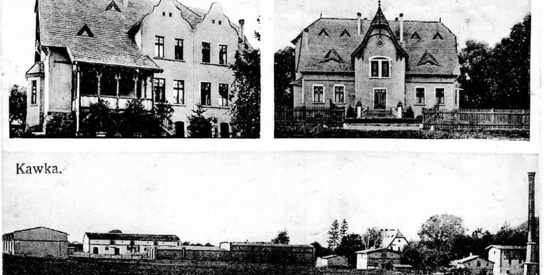 Posiadłość Kawka wraz z młynem. Zdjęcia  z  1921 r.