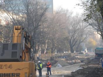 W Bronowicach trwa wielki remont trasy tramwajowej oraz przebudowa ulic