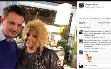 """Magda Gessler odwiedziła niedawno Toruń, by sprawdzić efekty """"Kuchennej rewolucji"""", jaką przeprowadziła w restauracji """"Italian"""