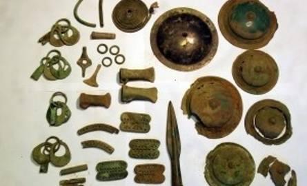 Tak wygląda skarb znaleziony w okolicach Chojnic