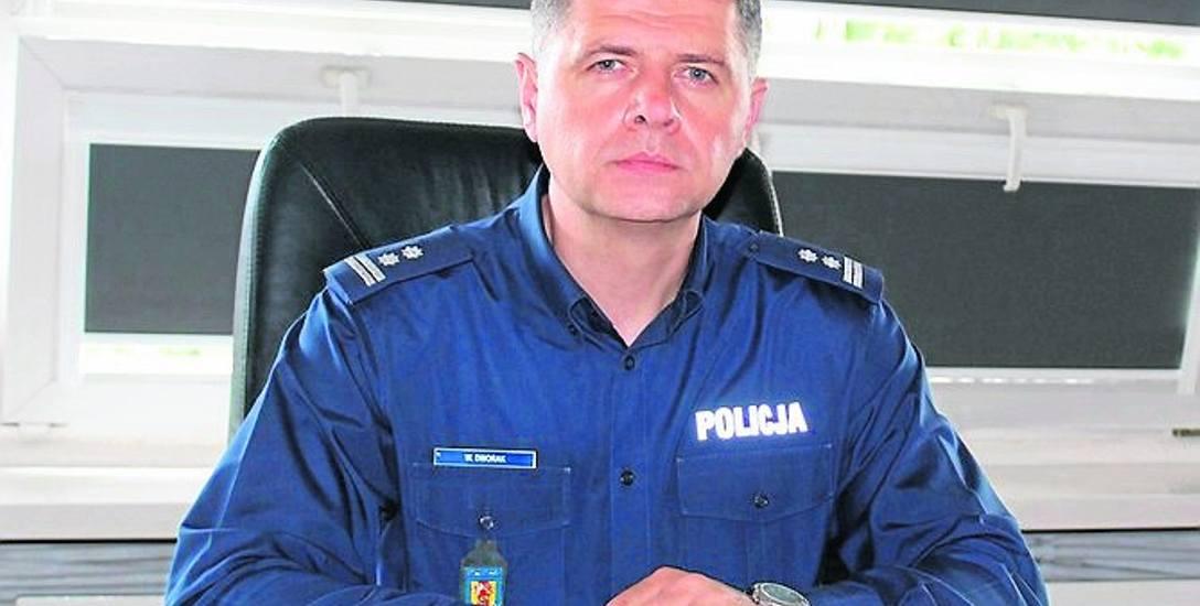 Nowy skierniewicki komendant policji interesuje się sportem, muzyką i literaturą.