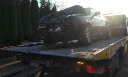 Policjant, który brał udział w wypadku w Kamionce, po czym oddalił się z miejsca zdarzenia decyzją Komendanta Komendy Powiatowej Policji w Wieluniu został