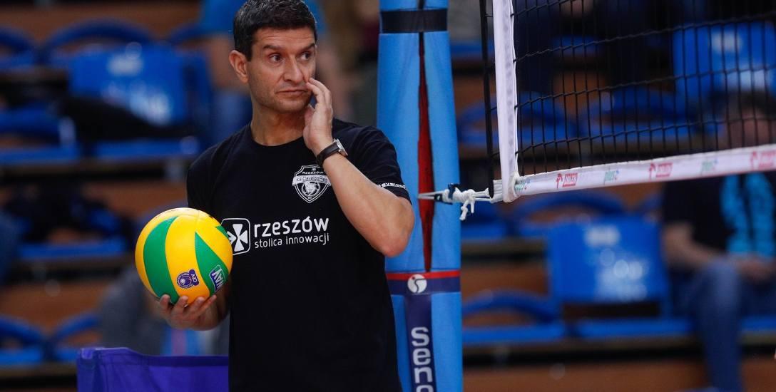 Trener rzeszowskiego zespołu Lorenzo Micelli jest rozczarowany faktem, iż nie udało się awansować do finału