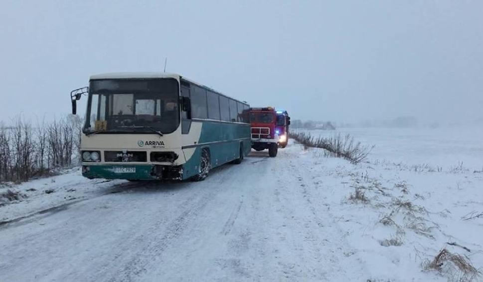 Film do artykułu: Wypadek autobusu z dziećmi w Wielkich Walichnowach