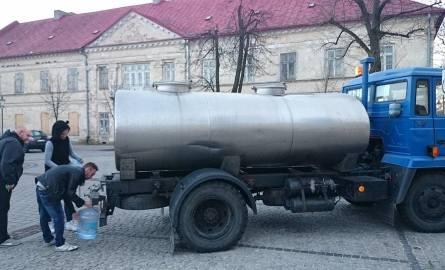 Beczkowozy z wodą dla powiatu olkuskiego  [LISTA MIEJSC, HARMONOGRAM]