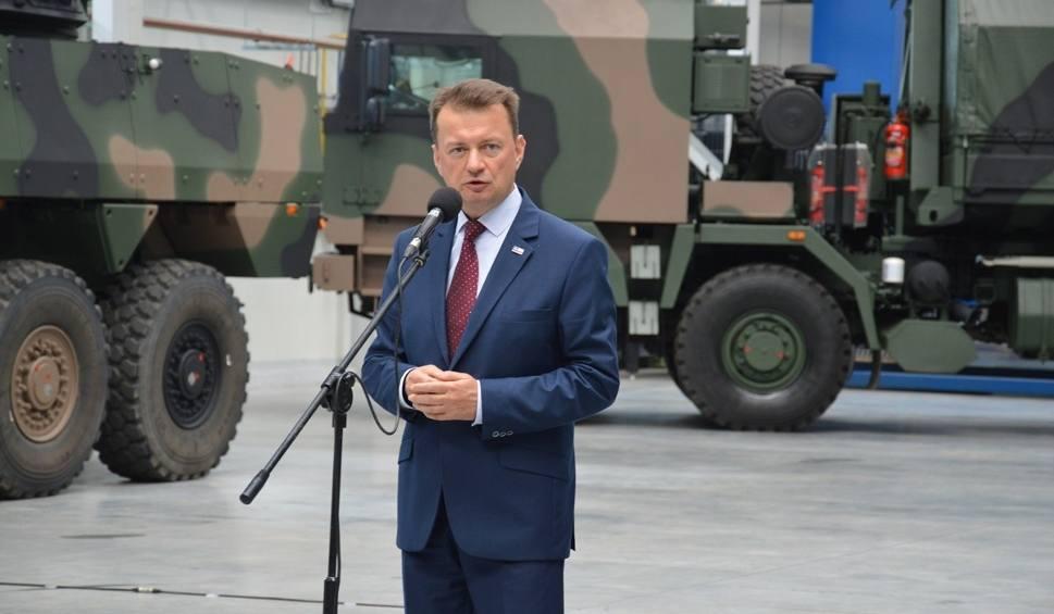 Film do artykułu: Minister obrony patronował podpisaniu kontraktu w Hucie Stalowa Wola na wozy amunicyjne