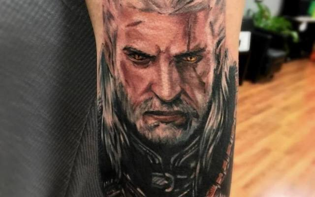 Wiedźmin Tatuaż Porannypl