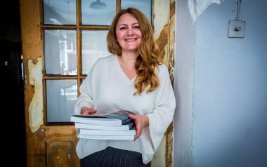 """Violetta Grzelka, autorka bloga i książki """"Mamucie przysmaki""""."""