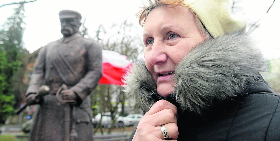 Zofia Romejko z Zielonej Góry widziałaby pomnik marszałka  na placu Bohaterów