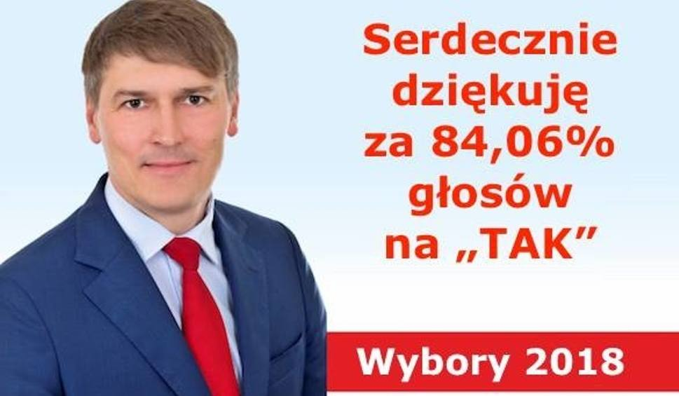 Film do artykułu: Marcin Skonieczka zdobył 84 -procentowe poparcie na wójta Płużnicy