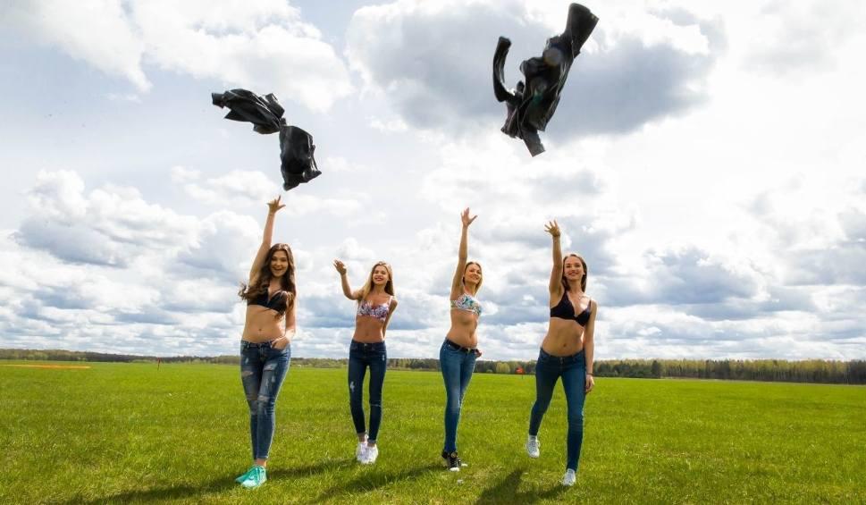 Film do artykułu: Miss Podlasia 2016. Finalistki opanowały lotnisko (zdjęcia)