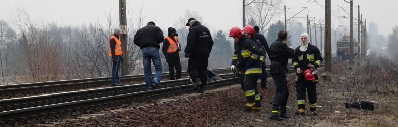 Zduńska Wola: śmierć na torach. Samobójstwo?