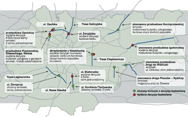 Trasa Galicyjska Mapa Gazetakrakowska Pl