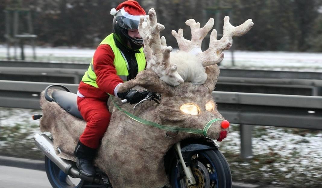 Деды Морозы на мотоциклах проедут по улицам Гданьска 2 декабря