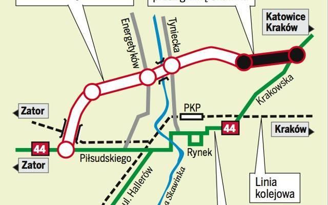 Obwodnica Skawiny Mapa Gazetakrakowska Pl