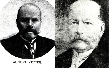 Karol, August i Juliusz Vetterowie