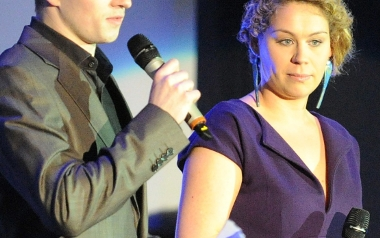 Anna Trzebiatowska i Szymon Miszczak