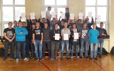 Klasa II TC o profilu mechatronicznym, Zespół Szkół Ponadgimnazjalnych numer 9 im. Komisji Edukacji Narodowej w Łodzi