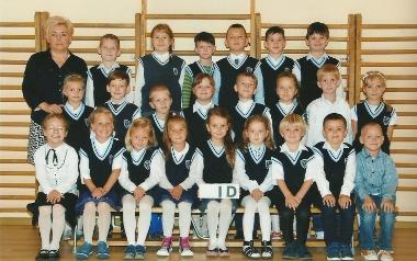 Szkoła Podstawowa nr7 w Koszalinie. Klasa 1d