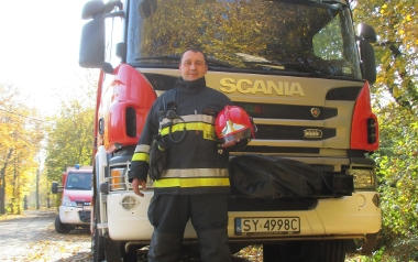 Kpt. Tomasz Rutkowski, KM PSP Bytom