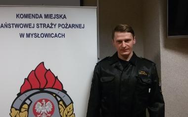 Michał Szklarczyk, KM PSP Mysłowice, młodszy kapitan