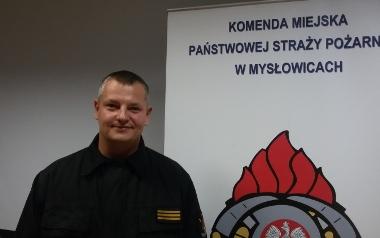 Piotr Wilczek, KM PSP Mysłowice, starszy sekcyjny
