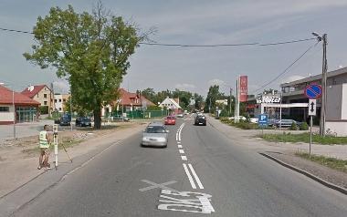 Ulica Sułowska - wjazd od Trzebnicy