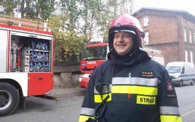 Wojciech Chojnowski, KM PSP Mysłowice, rzecznik prasowy