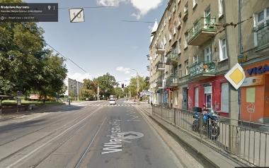 Niebezpieczny przystanek tramwajowy przy ul. Reymonta
