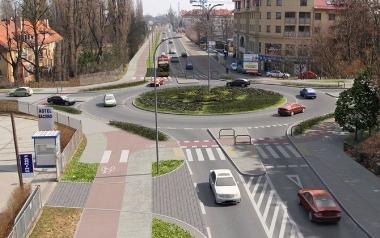 Rondo Ojca Pio na ulicy Zwycięskiej