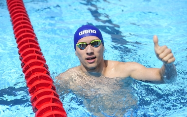 Artur Pióro PŁYWANIE dwukrotny Mistrz Olimpijski Niesłyszace