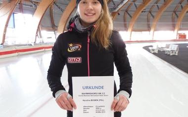 Karolina Bosiek (IUKS Dziewiątka, łyżwiarstwo szybkie)