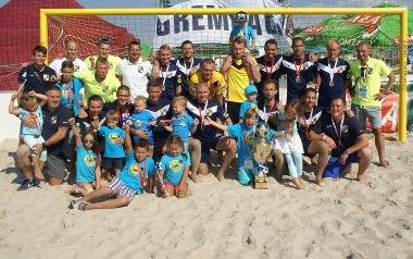 Piłkarze plażowi Grembacha Łódź