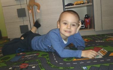 Daniel Flis, 5 lat, Chorzów.