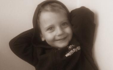 Grzesiu Wojtasiński Czeladź, lat 5
