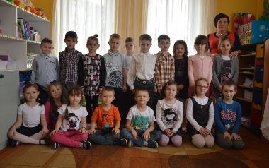 Przedszkole numer 1 w Pińczowie. Grupa V