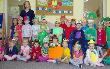 Zespół Placówek Oświatowych w Chobrzanach. Grupa 3-4 latków