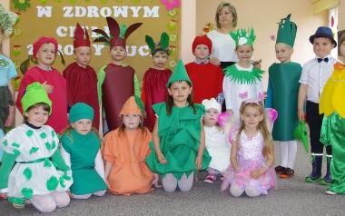 Zespół Placówek Oświatowych w Chobrzanach. Grupa 5 latków