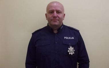 asp. Sławomir Chaciński, Posterunek Policji w Unisławiu Pomorskim