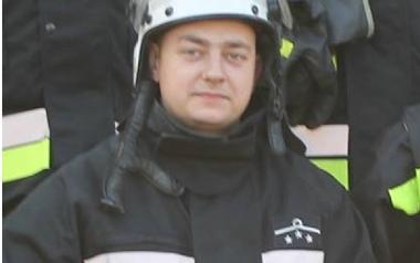 Łukasz Janota Naczelnik OSP Sarnów