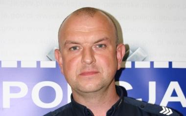 mł. asp. Marek Komorowski, Komenda Powiatowa Policji w Wąbrzeźnie